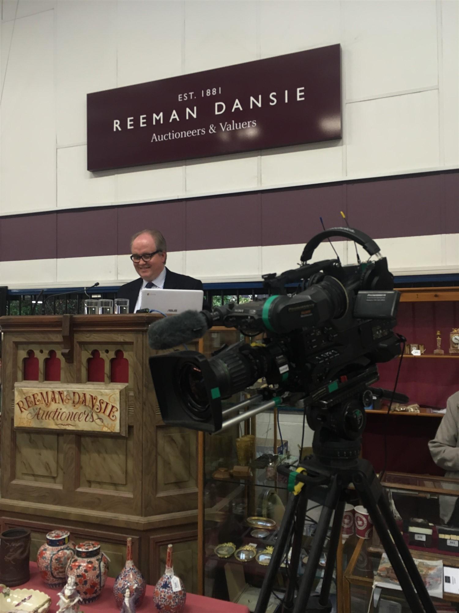 Reeman Dansie filmed as part of BBC's Antique Road Trip