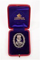 Lot 10 - Rare Edwardian Silverer Honorary Chaplain to...
