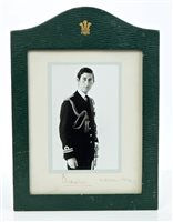 Lot 20 - HRH The Prince of Wales - signed 1970s...