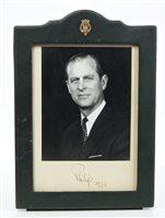 Lot 21 - HRH Prince Philip The Duke of Edinburgh -...