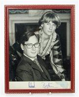 Lot 22 - TRH The Duke and Duchess of Gloucester -...