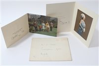 Lot 29 - HM Queen Elizabeth II and HRH The Duke of...
