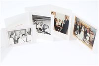 Lot 31 - TRH The Duke and Duchess of Kent - four signed...