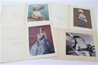 Lot 41 - HM Queen Elizabeth The Queen Mother - four...