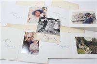 Lot 45 - HM Queen Elizabeth The Queen Mother - four...