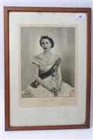 Lot 50 - HM Queen Elizabeth II - signed presentation...