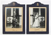 Lot 51 - HM Queen Elizabeth II and HRH The Duke of...
