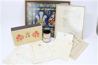 Lot 56 - Collection of Royaltyal ephemera - including...