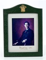 Lot 63 - HRH Prince Charles Prince of Wales - signed...