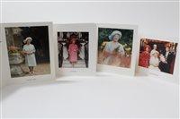 Lot 66 - HM Queen Elizabeth The Queen Mother - four...