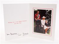 Lot 88 - TRH The Prince and Princess of Wales - signed...