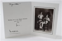 Lot 91 - TRH The Prince and Princess of Wales - signed...