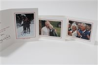 Lot 95 - TRH Prince Charles Prince of Wales and Camilla...