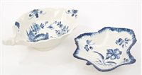 Lot 4 - 18th century Worcester blue and white...