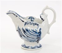 Lot 12 - 18th century Derby blue and white...