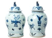 Lot 45 - Pair 19th century Chinese export...