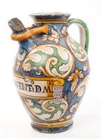 Lot 47 - 17th century Italian Majolica apotheCarsy wet...