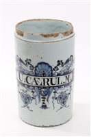 Lot 54 - Early 18th century English London Delft blue...