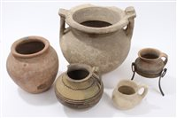 Lot 67 - Collection of Ancient, probably Roman, pottery...