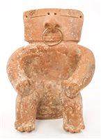 Lot 68 - Ancient pre-Columbian Quimbaya pottery slab...