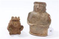 Lot 70 - Ancient pre-Columbian Quimbaya-type pottery...