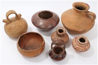 Lot 73 - Collection of seven Ancient pre-Columbian...