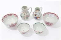Lot 81 - Two 18th century Chinese export famille rose...