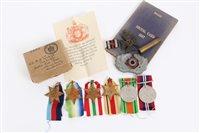 Lot 529 - Second World War Navy Medals group -...
