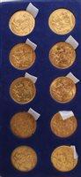 Lot 1 - G.B. gold Sovereigns - Victoria J.H. 1888M. VG,...