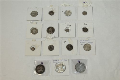 Lot 10 - G.B. Charles II to Victoria, mixed Silverer...