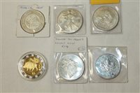 Lot 11 - World - mixed Silverer Crowns - to include...