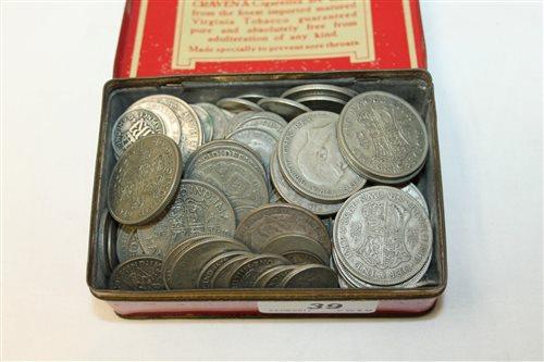 Lot 39 - G.B. pre-1947 Silverer Coinss (Est. face value...