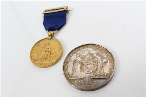 Lot 42 - G.B. Medalslions - to include Nottingham &...