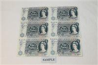 Lot 19 - Banknotes - G.B. QEII. Series 'C' Hollom blue...