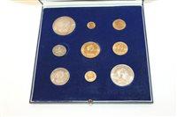 Lot 37 - Jersey - Royal Wedding mint Nine Coins Set -...