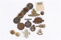 Lot 516 - First World War War Medals, named to 757833 A....