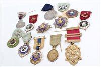 Lot 52 - G.B. circa 1910 - 1927 Masonic Silverer...