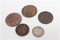 Lot 56 - G.B. mixed Coinsage - to include Charles II...