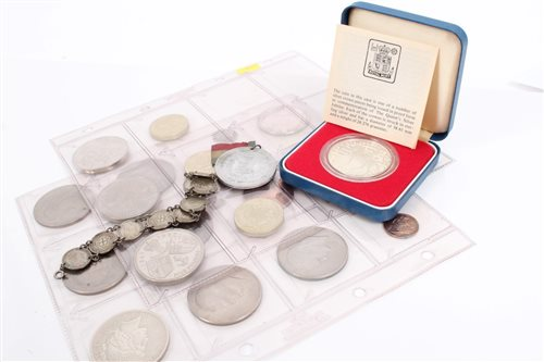 Lot 59 - World - mixed Coinsage - to include Elizabeth...