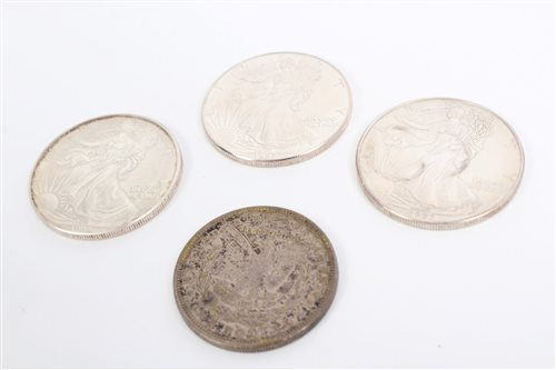 Lot 60 - United States - mixed Coinsage - to include...