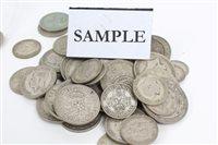 Lot 62 - G.B. pre-1947 Silverer Coinss (Est. face value...