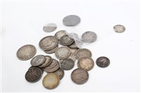 Lot 79 - G.B. mixed pre-1920 Silverer Coinsage - to...