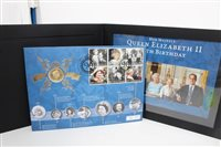 Lot 87 - Gibraltar - Elizabeth II 90th Birthday gold...
