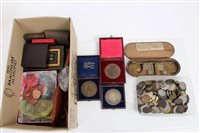 Lot 103 - World - mixed Coinsage and Medalslions - to...
