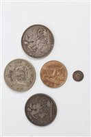 Lot 104 - G.B. mixed Coinsage - to include William IV...