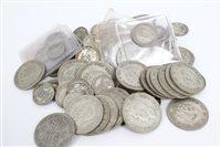 Lot 109 - G.B. pre-1947 Silverer Coinss (Est. Face Value...