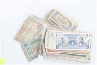 Lot 115 - Banknotes - mixed banknotes (approximately 172...