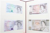 Lot 136 - Banknotes - G.B. Elizabeth II limited edition...