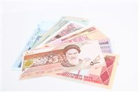 Lot 140 - Banknotes - Bank Markazi Iran - a selection...