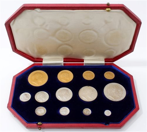 Lot 2111-G.B. Edward VII - 1902 Specimen Proof Set (N.B....